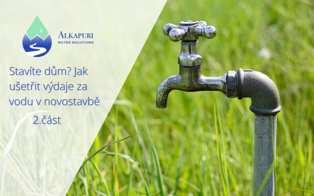 Dešťová voda recyklace Drop2Drink   alkapuri.cz